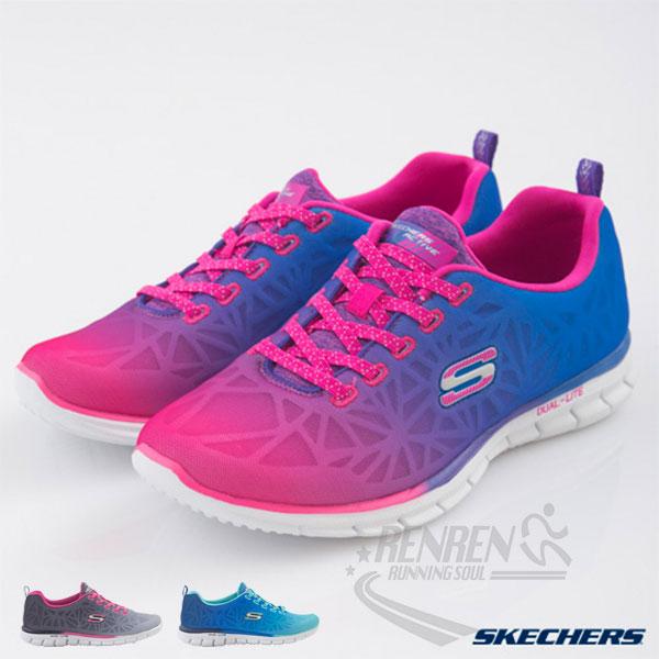 SKECHERS女運動鞋Glider桃紅*紫*藍懶人鞋時尚經典鞋款透氣柔軟