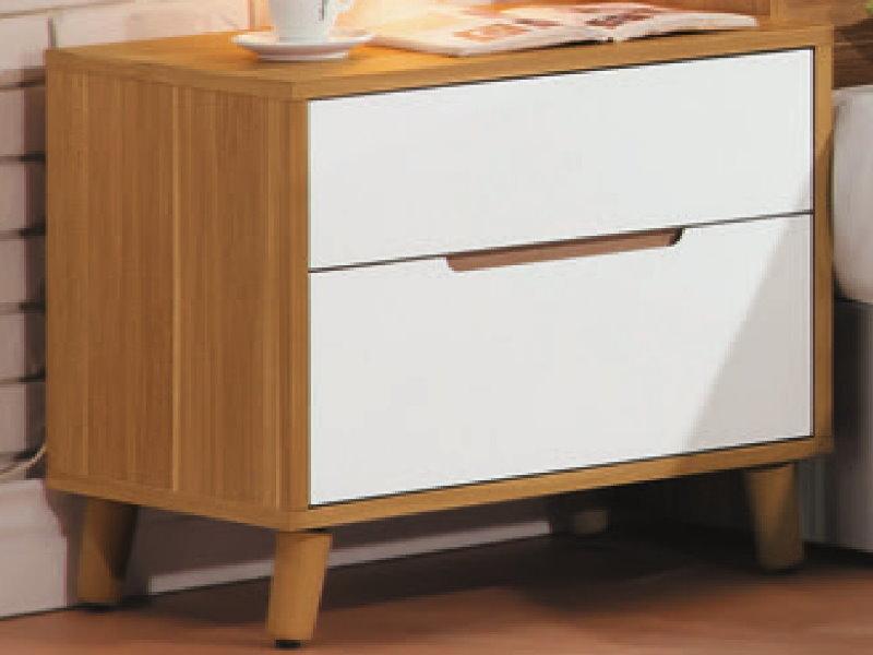 床頭櫃PK-129-5肯詩特烤白雙色1.8尺床頭櫃大眾家床居舘