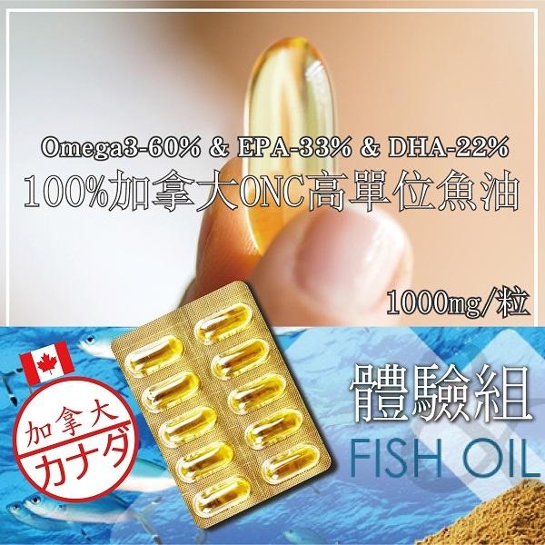 【美陸生技AWBIO】100%加拿大高單位魚油10粒,有效體驗~OMEGA-3/DHA/EPA