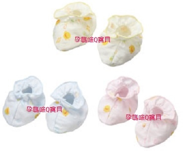 台灣製黃色小鴨純棉印花*春夏*護腳套/100%純棉 ~810600