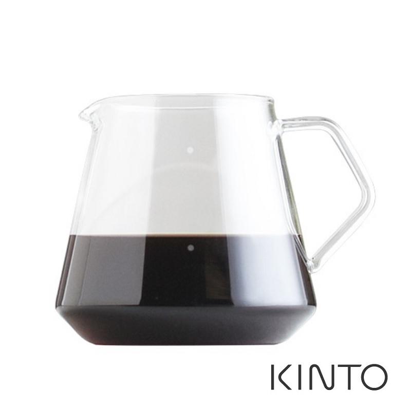 日本KINTO SCS經典玻璃咖啡下壺600ml《WUZ屋子》