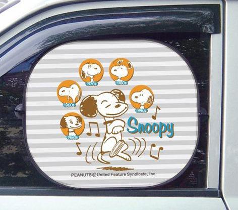 卡漫城Snoopy側窗遮陽板版一包內有2入史奴比史努比吸盤式車窗隔熱板汽車側窗遮陽板