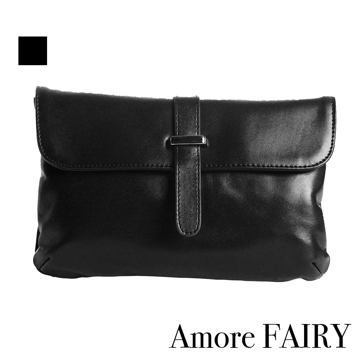 Amore 小菲比7吋隨身包-黑