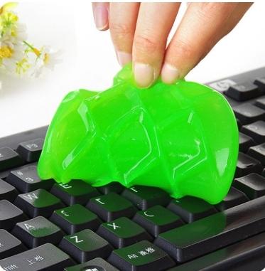 88柑仔店~水晶神奇清潔膠魔力去塵膠2代電腦鍵盤清潔泥 鍵盤泥