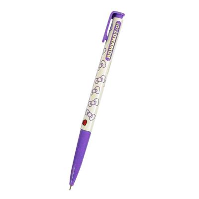 TOWO 東文 OP-103蝴蝶結中油筆0.7 紫 (藍芯)