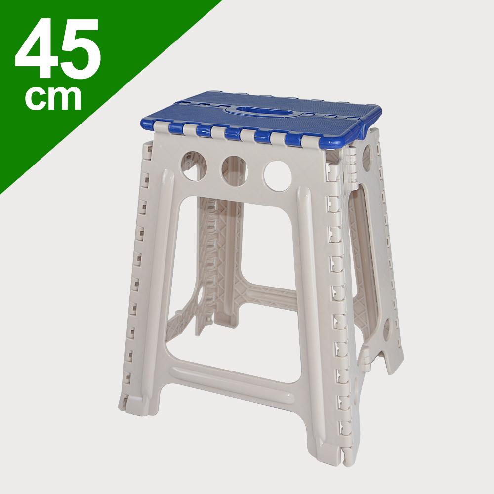 【45CM止滑摺合椅】收納椅 兒童椅 摺疊椅 外出椅 折疊椅 野餐椅 椅子 [百貨通]