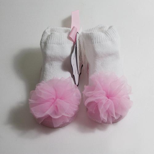 美國Mud Pie造型嬰兒襪童襪雪紡襪-瑪莉珍素面款