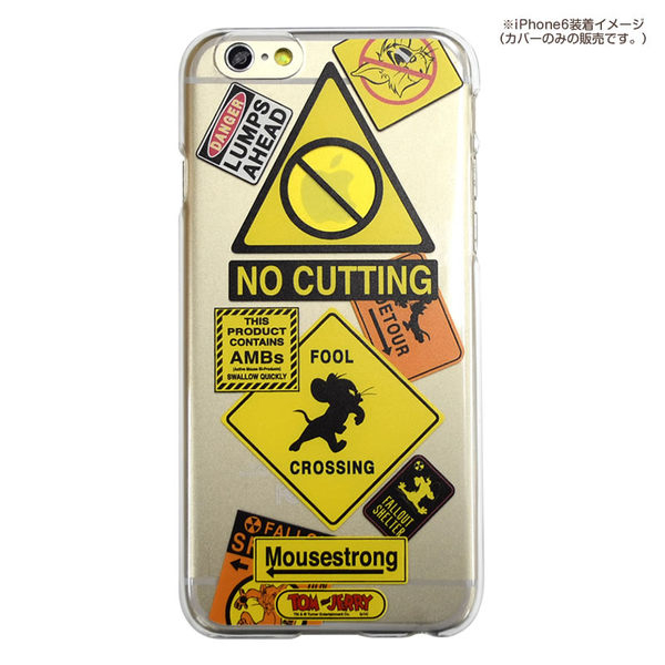 尼德斯Nydus*日本正版湯姆貓傑利鼠湯姆與傑利透明款手機殼5.5吋iPhone 6