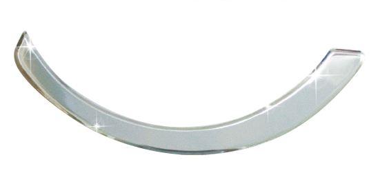 光陽原廠精品 MANY50/100/110空濾器蓋飾條貼紙-銀