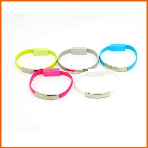 【Love Shop】手環造型充電傳輸線/IPHONE6/三星小米/安卓數據線/穿戴式USB手環充電線