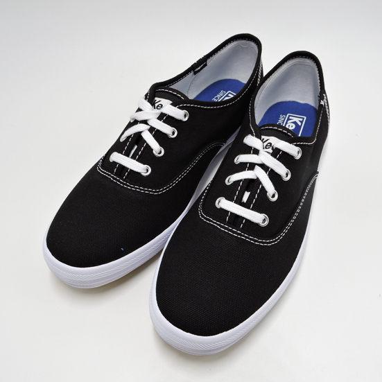 Keds 女款黑色基本款帆布鞋 NO.KB5586