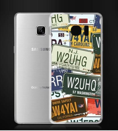 ✿ 3C膜露露 ✿{12353314*硬殼} Samsung Galaxy Note 7手機殼 手機套 保護套 保護殼