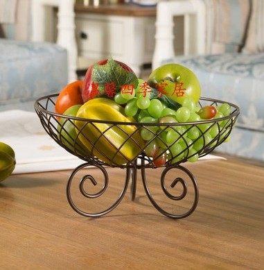 鐵藝水果籃