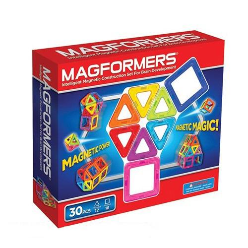 【韓國 Magformers 磁性建構片】磁性建構片-30片裝 ACT06065