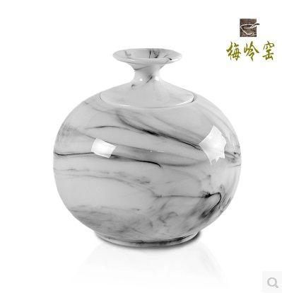 密封罐黑白茶葉罐150g