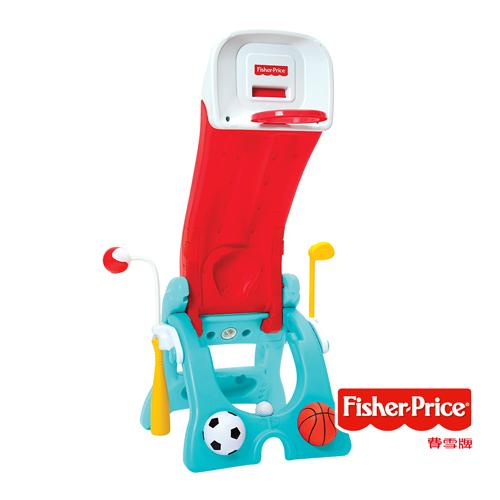 費雪Fisher-Price 六合一多功能運動遊戲組 美泰兒正貨