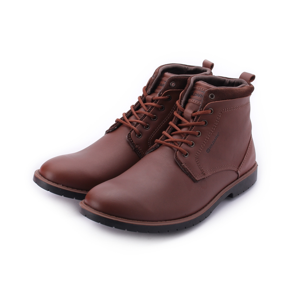 巴西KILDARE CLOUD SADDLE 真皮霧面中筒靴 深咖 RU8212-MA 男鞋