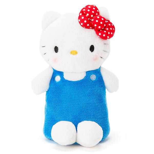 Hello Kitty鉛筆袋立體站式絨布拉鍊筆袋收納包化妝包喜愛屋