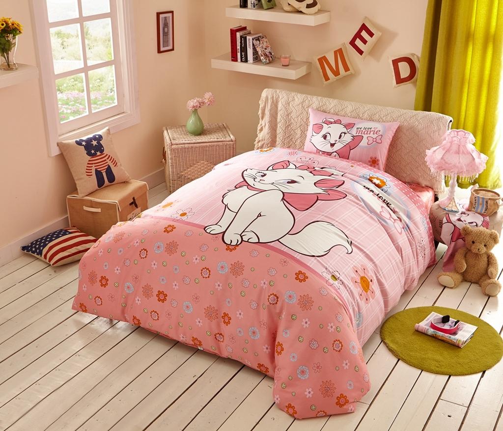 標準雙人床包組迪士尼床包貓兒歷險記瑪麗貓marie貓卡通床包公主床包可訂製Disney授權