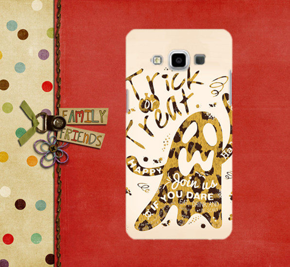 ✿ 3C膜露露 ✿ SAMSUNG GALAXY A5【豹紋妖怪*水晶硬殼】手機殼 手機套 保護殼 保護套