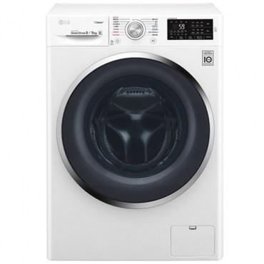 ★加碼贈好禮★【LG樂金】7kg變頻洗脫烘滾筒洗衣機 WD-S90TCW