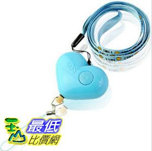 顏色隨機婦幼安全LED燈防狼隨身警報器手機吊飾Y71