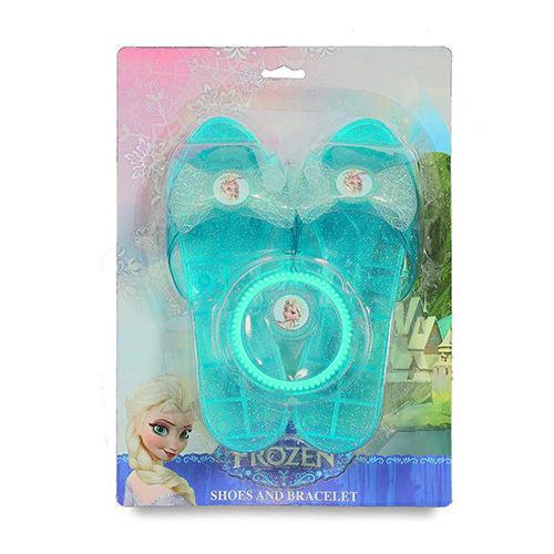 【美國Disney迪士尼】冰雪奇緣美麗玻璃鞋組 BL82544