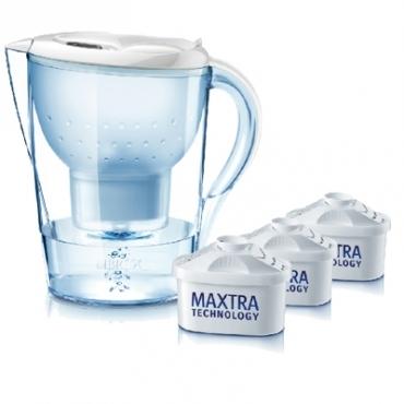 BRITA馬利拉型白超值包含四支濾芯