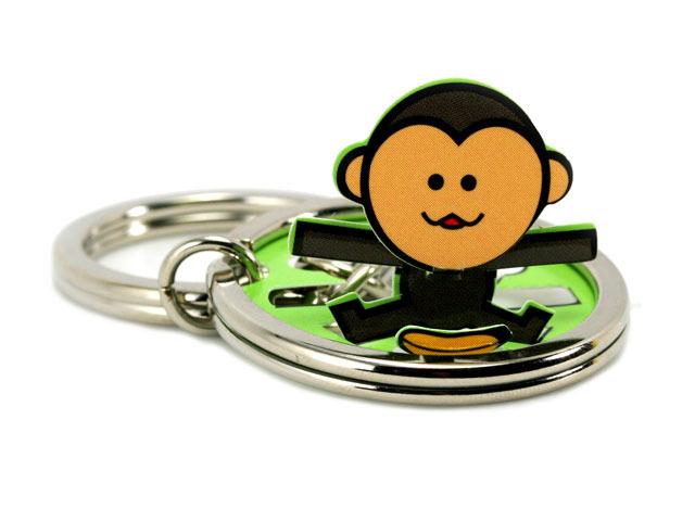 ☆猴子設計☆猴子立體鑰匙圈