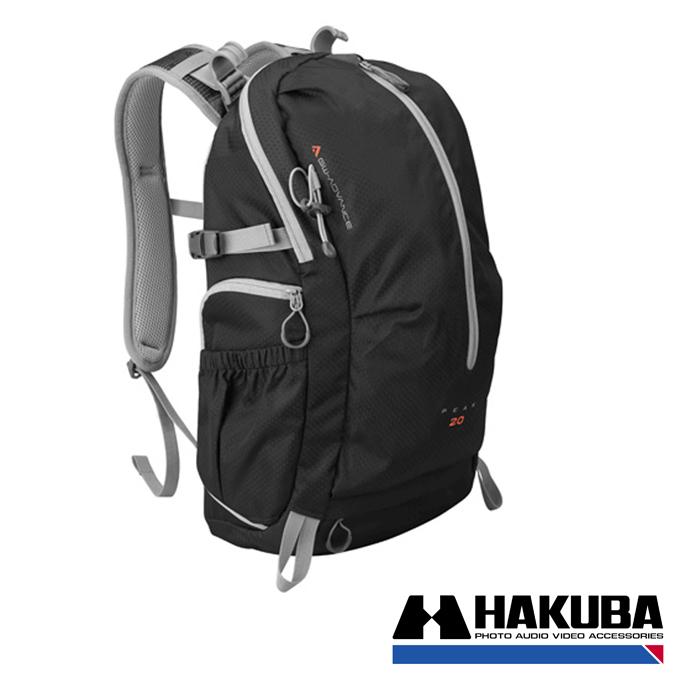 日本HAKUBA GW-ADVANCE PEAK 20先行者雙肩後背相機包黑色HA20450VT