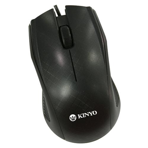 KINYO USB光學滑鼠KM-733【愛買】