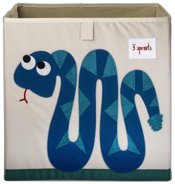 【加拿大 3 Sprouts】收納箱-小蛇款