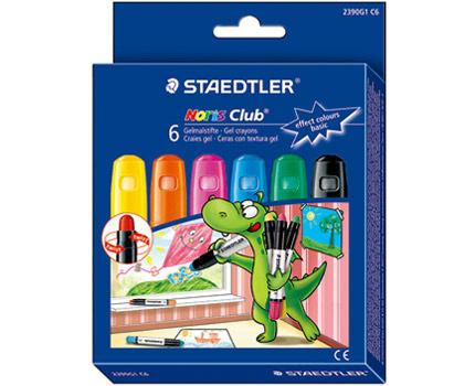 德國STAEDTLER施德樓果凍旋轉蠟筆6色效果色系
