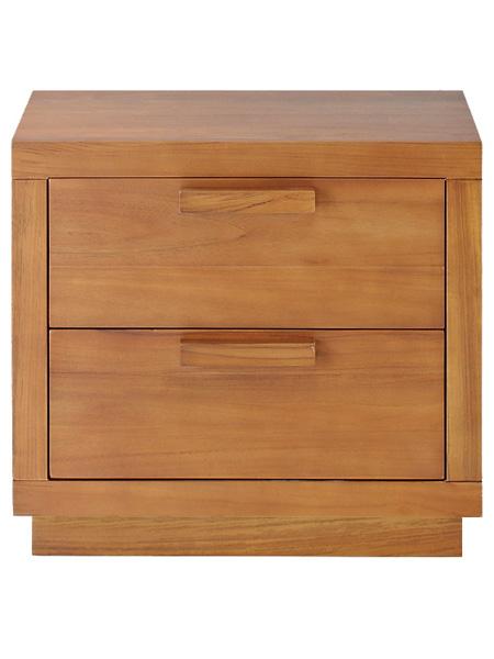 雙抽床頭櫃SCANDINAVIAN現代北歐優渥實木家具WMAC14T2