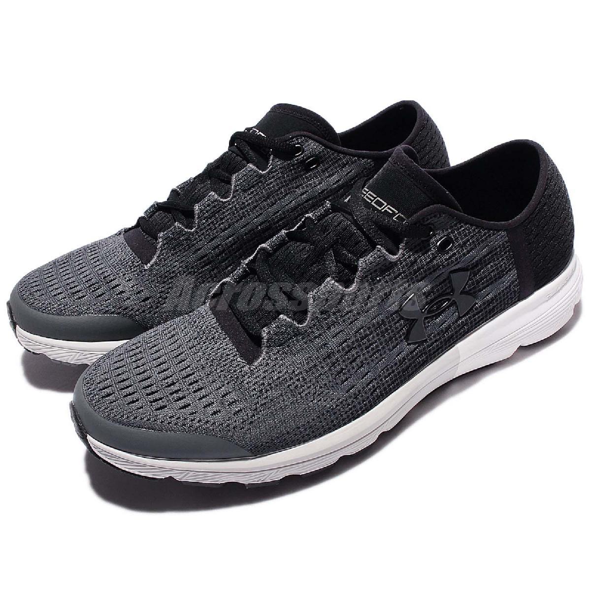 Under Armour UA慢跑鞋Speedform Velociti灰黑白底運動鞋男鞋PUMP306 1285680076
