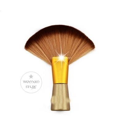 設計師推薦係金ㄟ厚扇形美髮刷.頸刷49332美容美髮美甲新秘專業材料