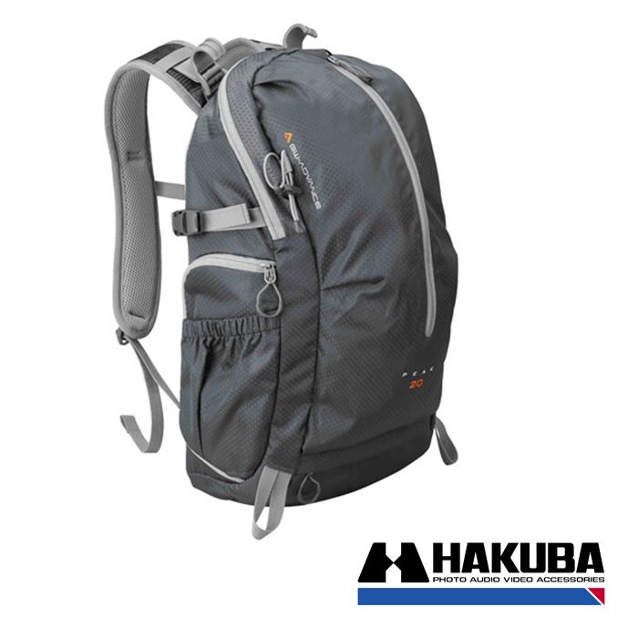 日本HAKUBA GW-ADVANCE PEAK 20先行者雙肩後背相機包銀灰色HA20449VT