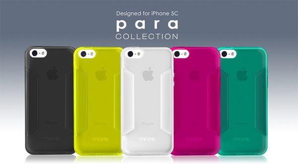 【默肯國際】more.IPHONE 5C Para collection 動感系列保護殼