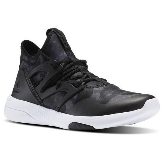 REEBOK HAYASU LTD女鞋慢跑訓練中底迷彩黑運動世界BS8273