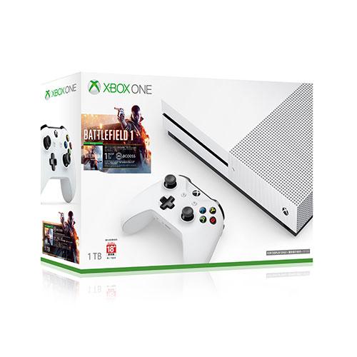 Xbox One S 1TB戰地風雲1同捆組愛買