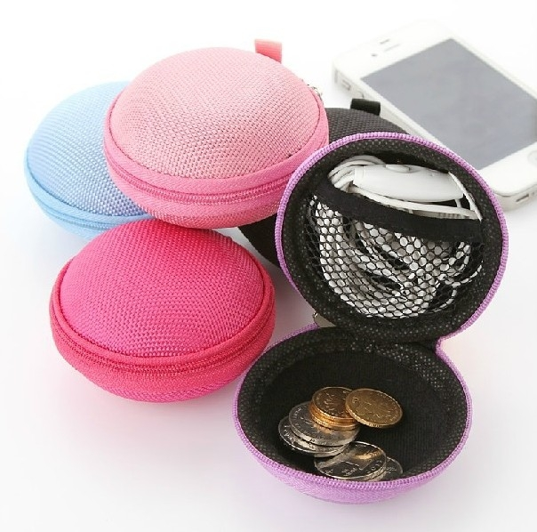 馬卡龍收納包 萬用包 零錢包 耳機包 蘋果 iphone 7 6s plus 4.7 oppo r9s-顏色隨機
