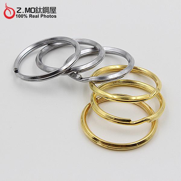 Z-MO鈦鋼屋30mm圓圈扣環精緻質感皮帶扣創意禮物推薦單個價NKLA030