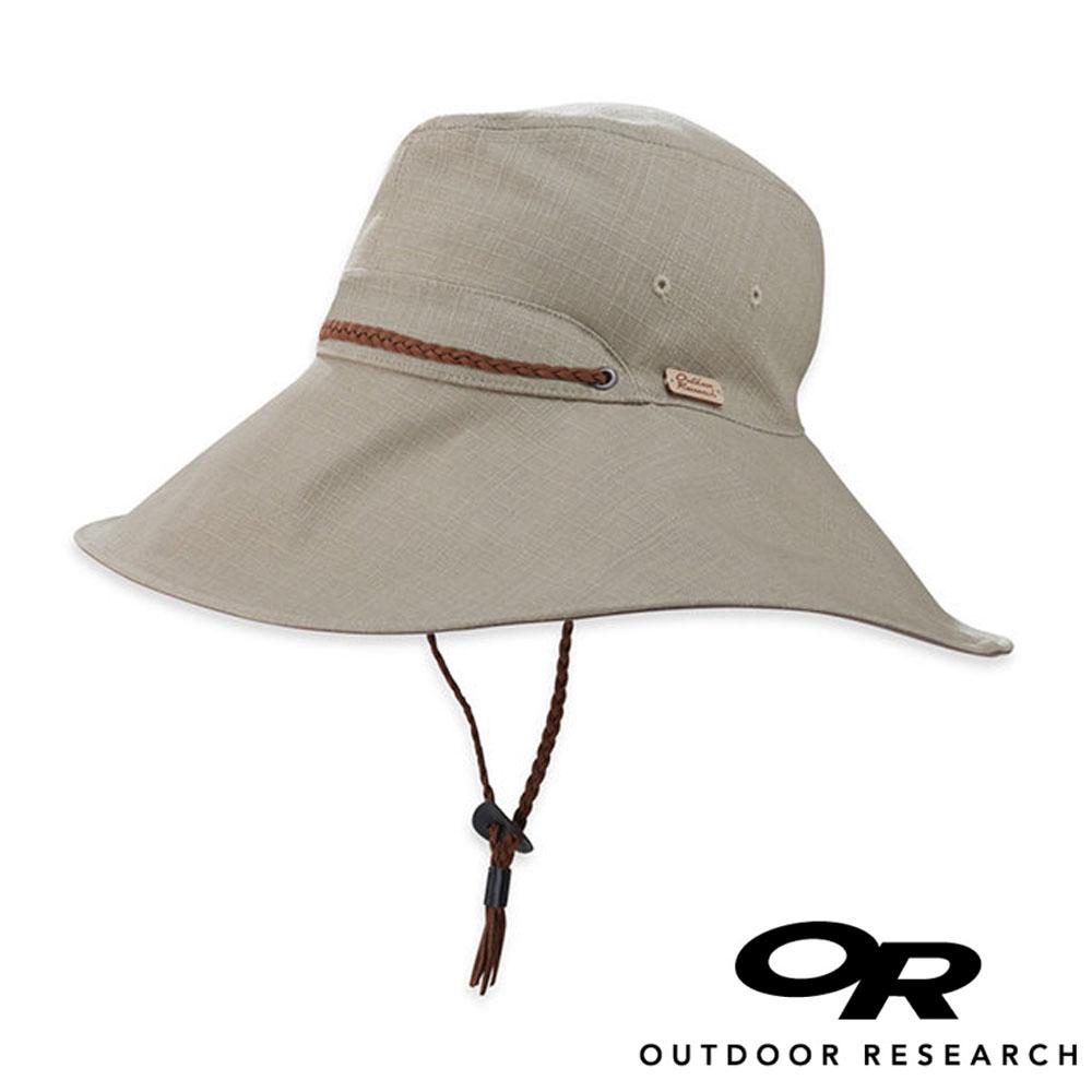 OR美國Outdoor Research Mojave女抗紫外線圓盤帽卡其244065登山.戶外.防曬帽.圓盤帽.大盤帽