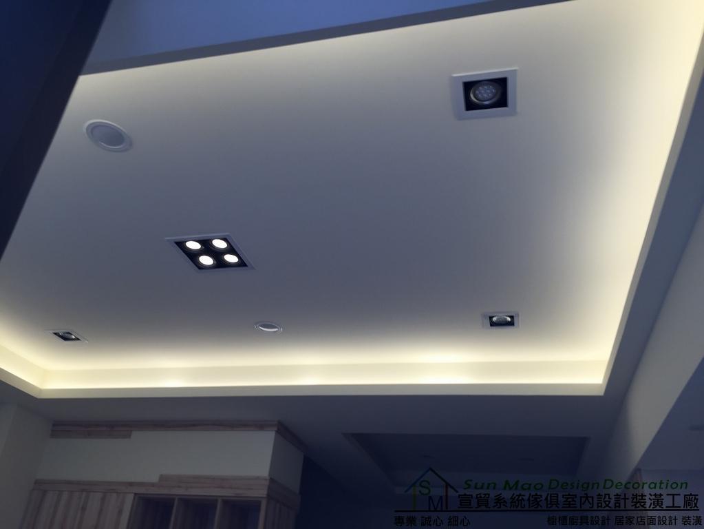 系統家具系統櫃木工裝潢平釘天花板造型天花板工廠直營系統家具價格天花板-sm0892