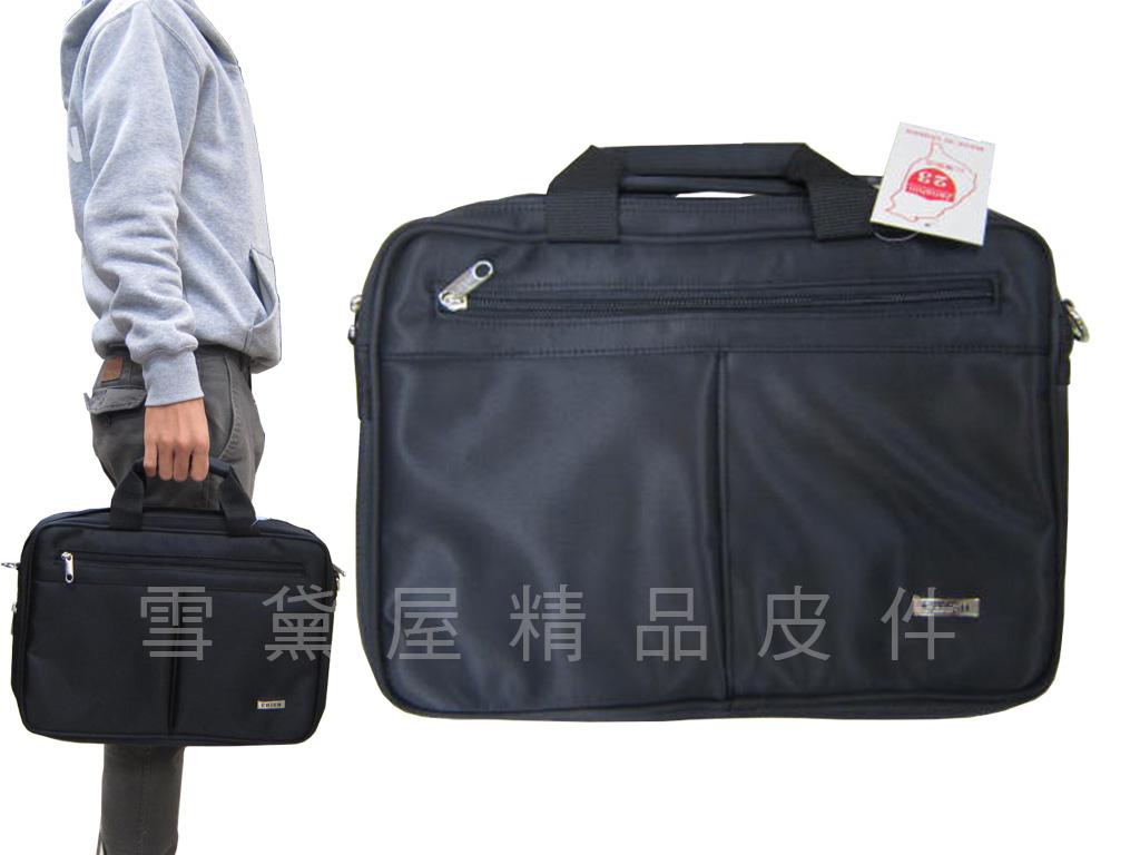 雪黛屋~CHIEH文件包小型容量底加大MIT製可置機車箱防水尼龍布手提肩背斜側背91-2165
