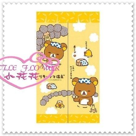 小花花日本精品拉拉熊懶熊輕鬆熊小雞長門簾櫃簾子窗簾間隔簾冷氣隔簾黃色溫泉33174105