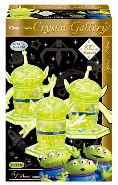美國Disney迪士尼3D水晶拼圖-三眼怪HA06437
