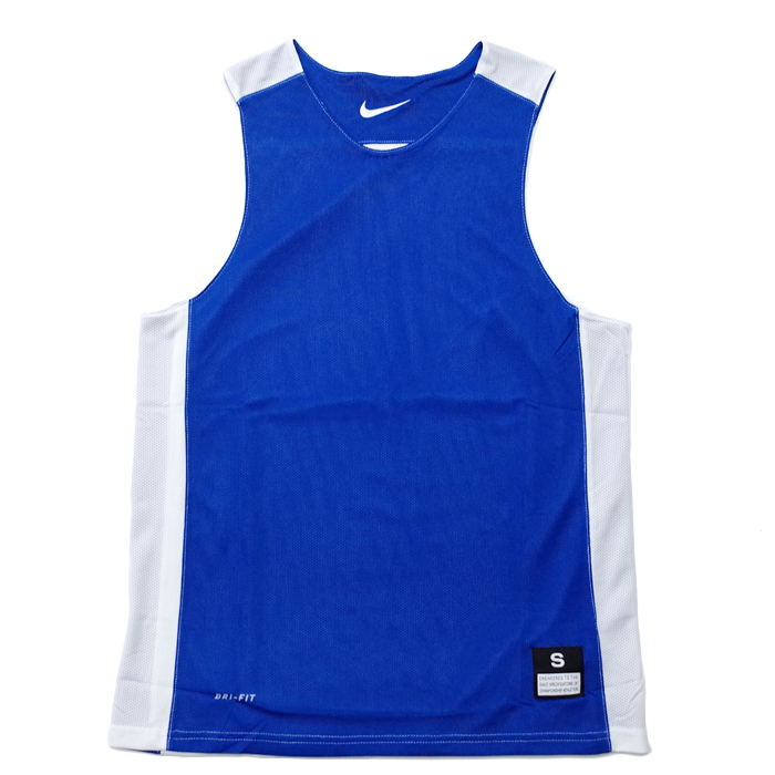 Nike League Rev Practice男寶藍白雙面穿團體籃球服球衣透氣上衣無袖背心t恤631064-494