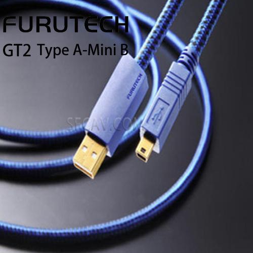 新竹勝豐群音響Furutech古河GT2 Type A-Mini B USB數位訊號線傳輸線1.2M