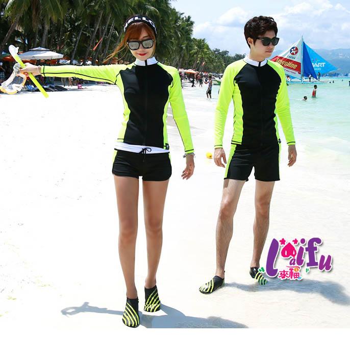 來福V168沙灘外套瑩光天星沖浪服防曬長袖外套單外套情侶外套單外套女生售價990元